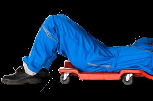 Sliding mechanic image for Drayton MOT Centre
