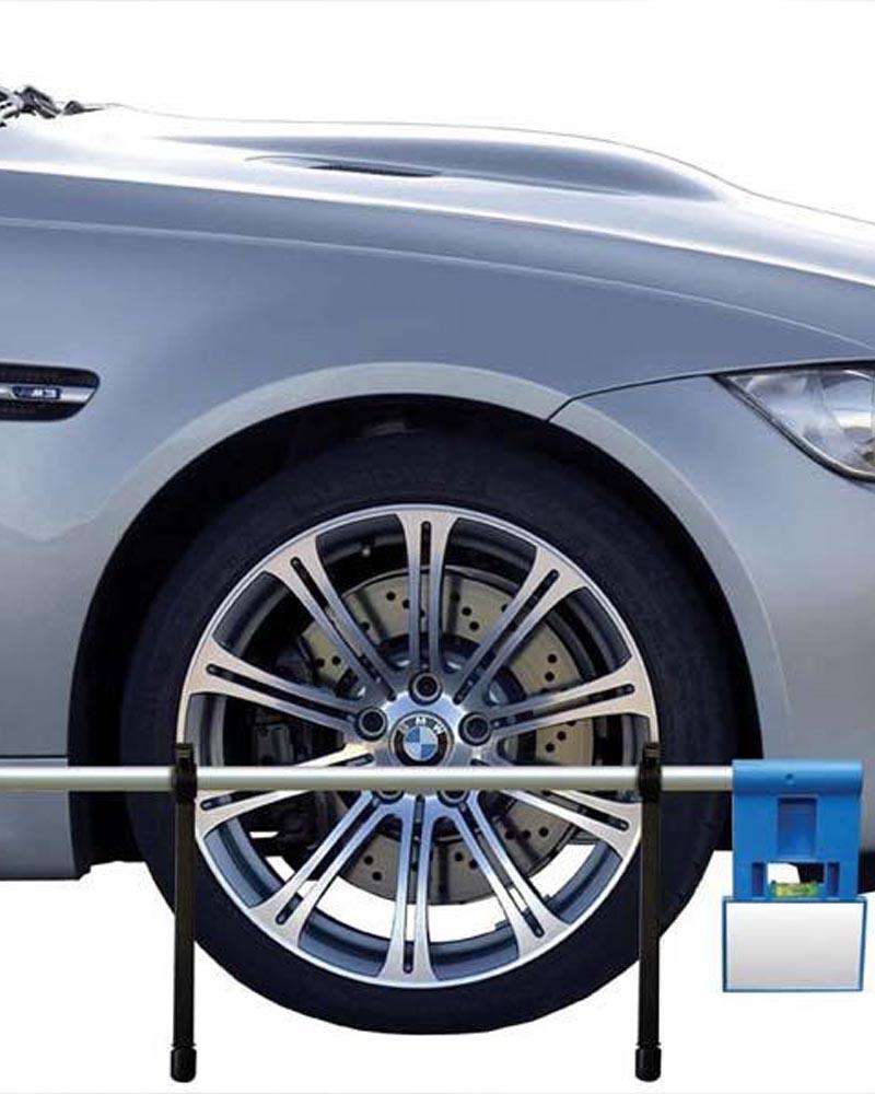 Laser wheel tracking image for Drayton Mot Centre