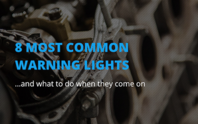The 8 most important warning lights to look out for